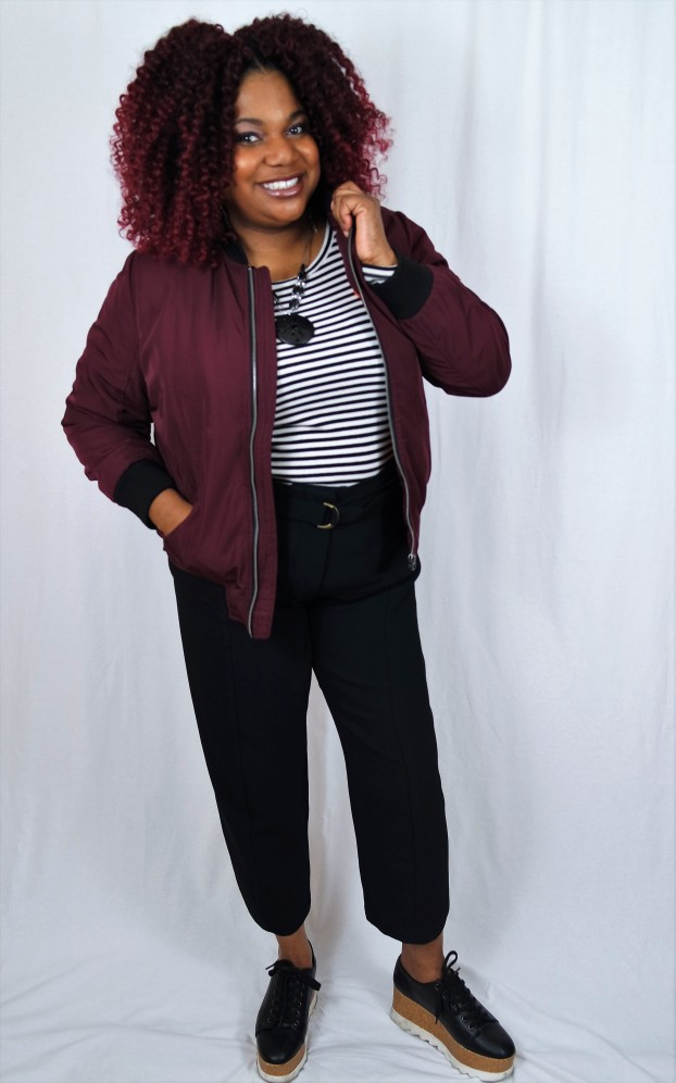 Simply Be Bomber Jacket
