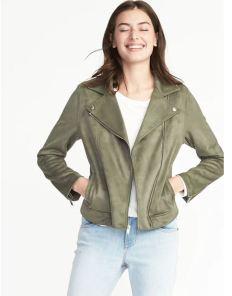 Green Moto Jacket ON